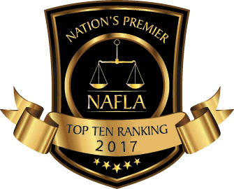 NAFLA Top Ten Ranking - 2017